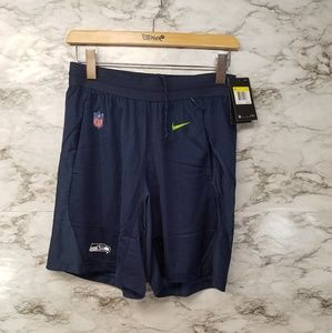 Nike Seattle Seahawks Mens Shorts Nike Dry Fit 55$